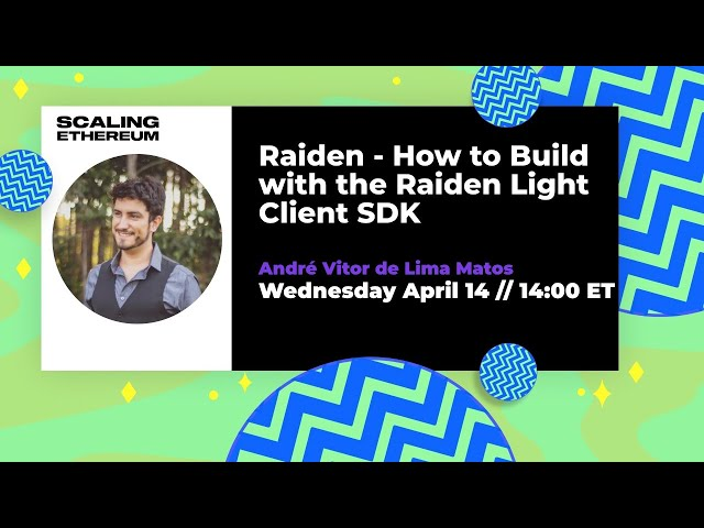 Raiden 🛠  How to build with the Raiden Light Client SDK