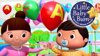 ABC Song | Balloons - Part 2 | Babies & Parents | Zed Version | Nursery Rhymes | By LittleBabyBum!