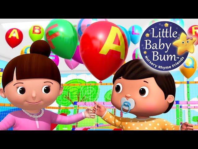 ABC Balloons Song   Part 2   Babies & Parents   Zed Version   Nursery Rhymes   By LittleBabyBum!