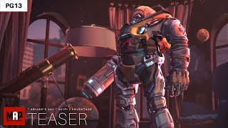 TEASER Trailer   CGI 3d Animated Short Film ** ARIANE'S SKY ** Funny Sci-Fi Animation Movie by IsART