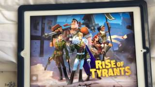 Playing Clash Of Clans!And Rise Of Tyrants