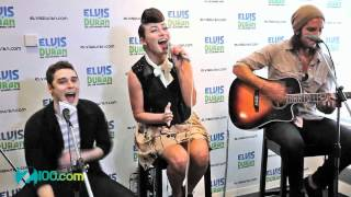 Karmin  - I'm Just Saying (Live @ Z100 on May 7,2012)