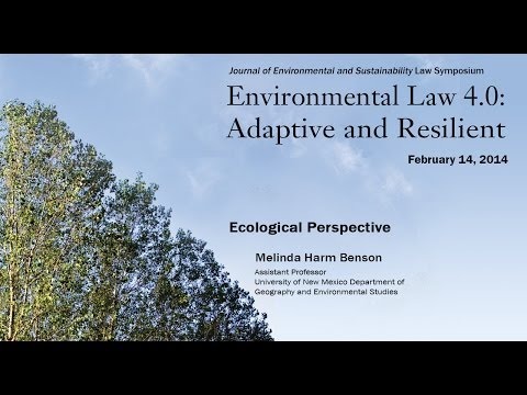 2014 JESL Symposium - Ecological Perspective