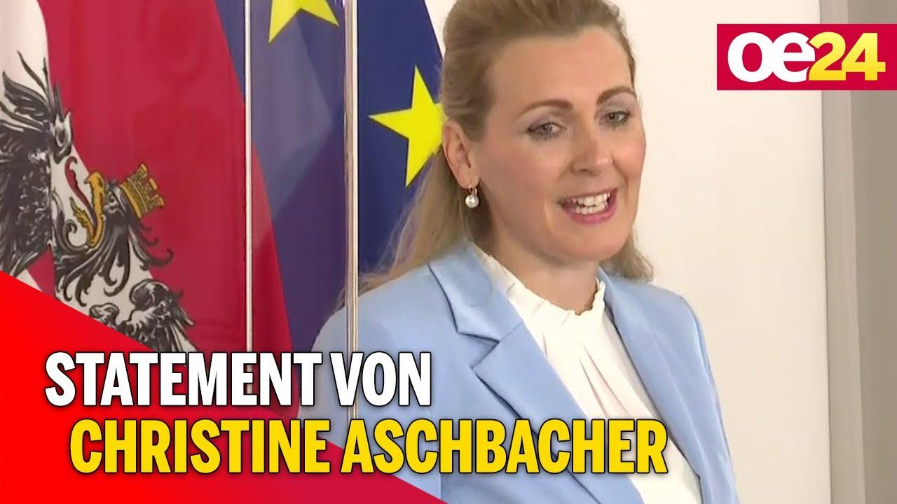 Lockdown Statement Von Christine Aschbacher Youtube