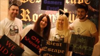 Genius Team at Best Escape Room Ever !!!! Команда Гениев в Best Escape Room Ever!!! :)