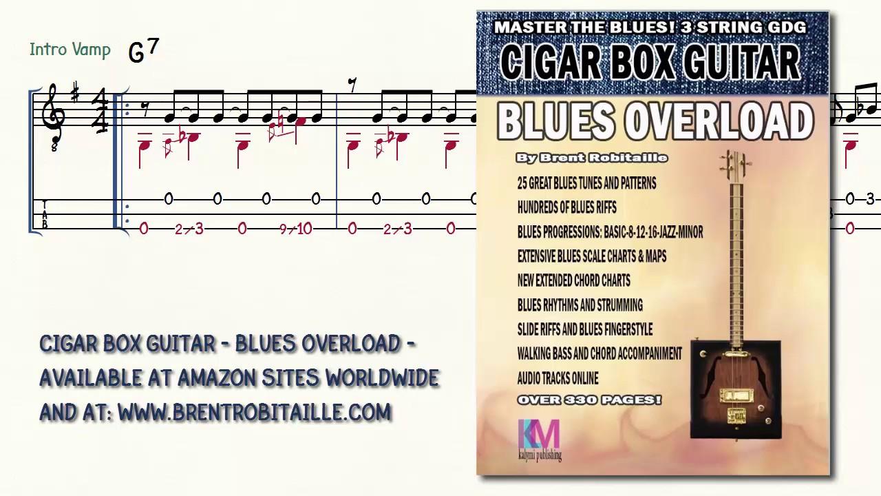 Cigar Box Guitar Blues Overload Hard To Do 3 String Guitar