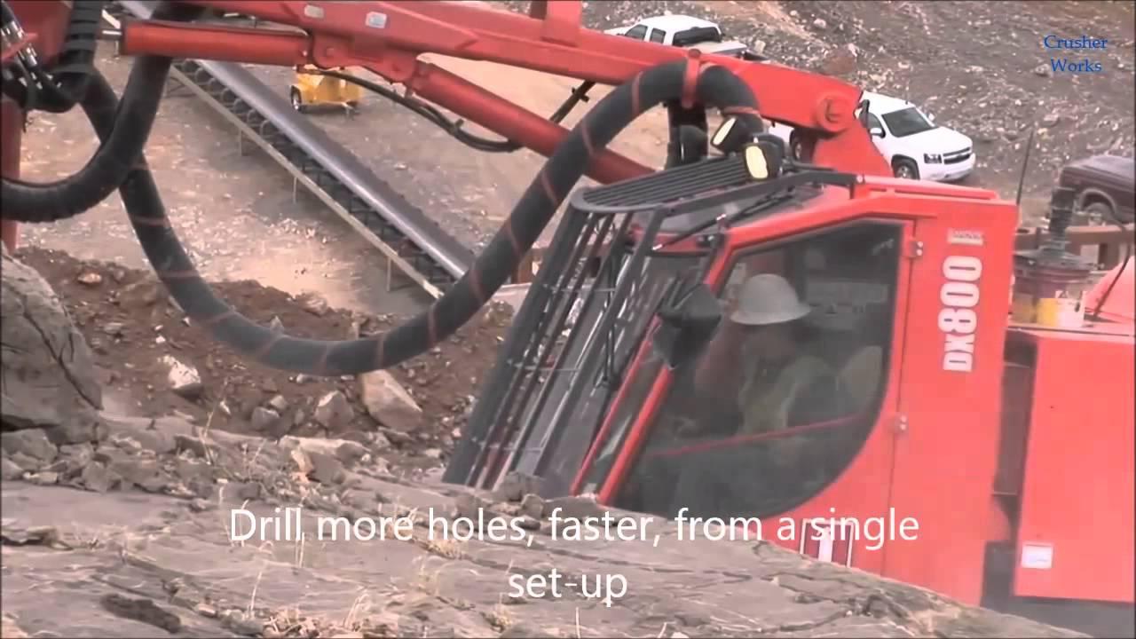 Sandvik DX Ranger Drill Rigs - Surface tophammer drill rigs