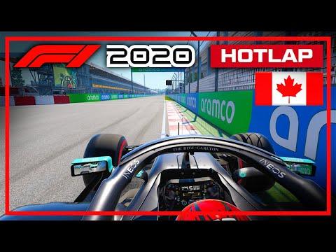 F1 2020 Canada Hotlap + Setup (1:07.528)