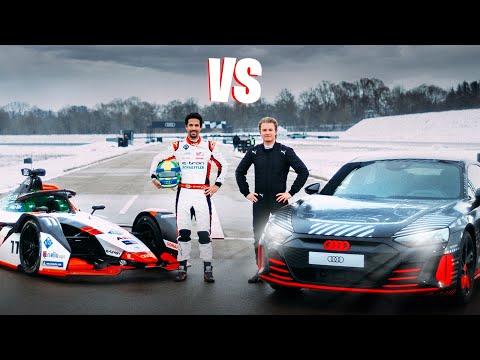 Formula E VS Audi RS E-Tron GT   Nico Rosberg