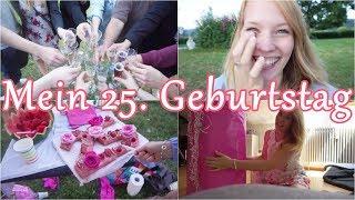 VLOG | 25. Geburtstag 🎈🎉 | XXL Geschenk | Party