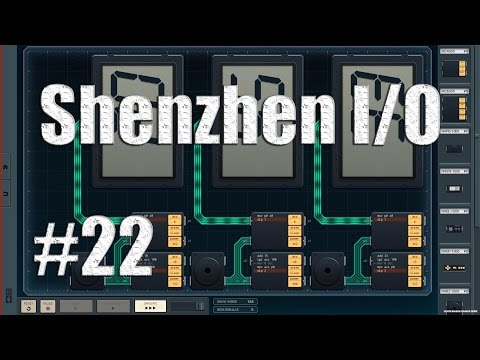 Let's Play SHENZHEN IO #22 - Meat Based Printer