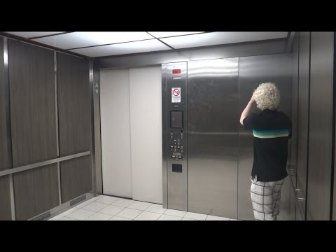 HUGE Elevator, TINY Door! Burlington Coat Factory, Los Angeles