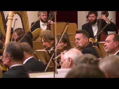 Концерт к 85-летию В.И.Федосеева в Санкт-Петербургской филармонии