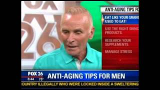 Expert on Fox news tells men to fight aging by eating healthy fats
