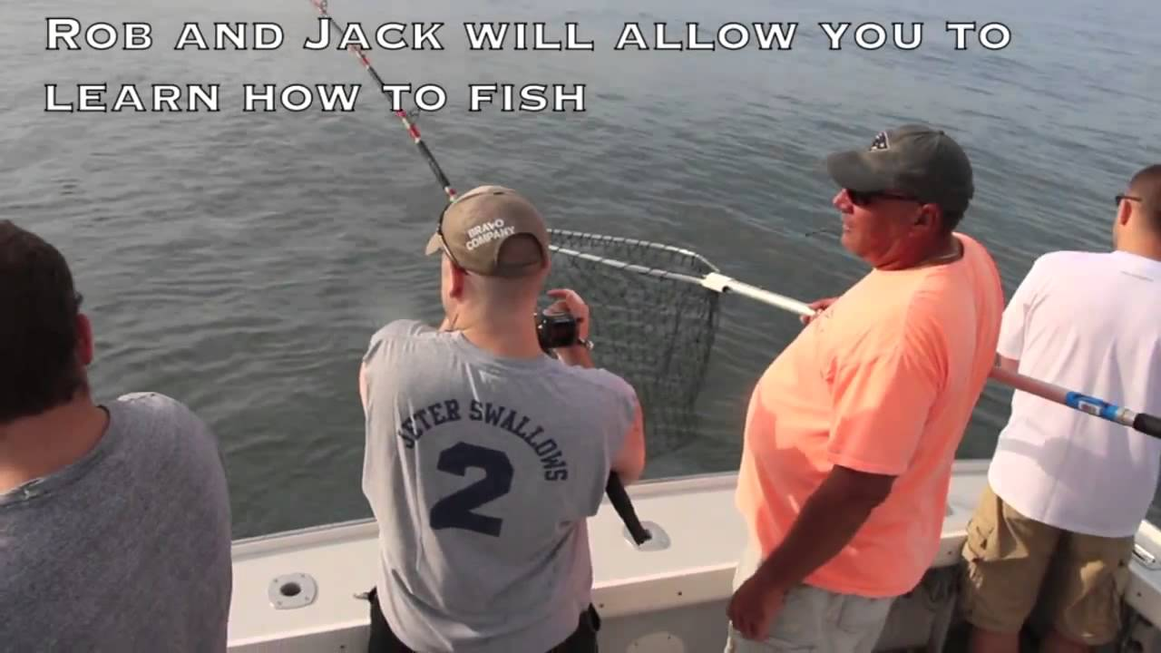 Boston harbor deep sea fishing youtube for Boston harbor fishing report
