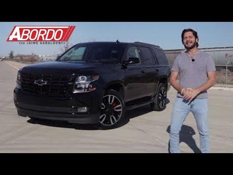 Chevrolet Tahoe RST 2018 - Prueba A Bordo Completa