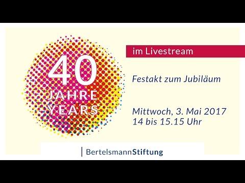 40 Jahre Bertelsmann Stiftung - Aufzeichnung des Festaktes