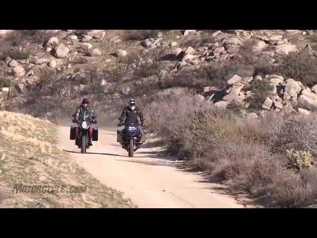 2014 BMW R1200GS Adventure vs KTM 1190 Adventure Shootout