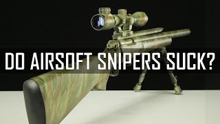 Do Airsoft Snipers Suck? The Sniper's Role Examined! - Airsoft GI