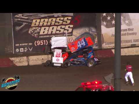 California Lightning Sprints at Perris Auto Speedway 8/18/18 Feature Highlights