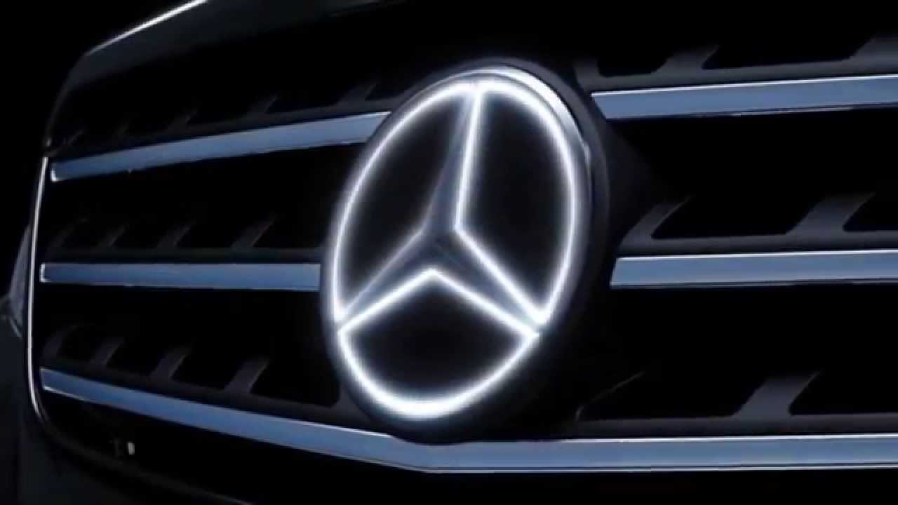 Led illuminated star kit for mercedes benz youtube for Mercedes benz led star