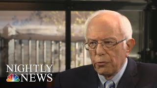 Bernie On America's Opioid Epidemic And 'What Matters' To 2020 Democratic Voters | NBC Nightly News