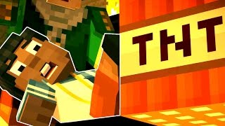 Minecraft: STORY MODE - BOOM TOWN OF GRIEFING! [5]