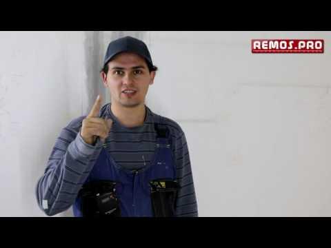 видео: Зачистка потолка
