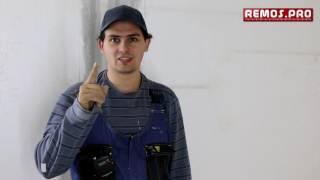 видео Как удалить краску с потолка