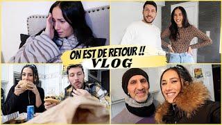 VLOG : LA RAISON DE NOTRE ABSENCE , TRY ON BRENTINY PARIS EN COUPLE  ET VISITES MAISONS ..