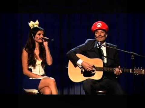 "Jimmy Fallon & Selena Gomez Cover ""(Mario Kart Love Song)"""