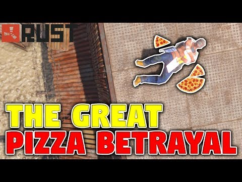 The Great Pizza Betrayal | Rust Cannibalism Challenge
