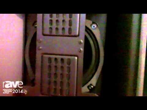 ISE 2014: Christie Presents Vive Audio Solution Cinema Speakers