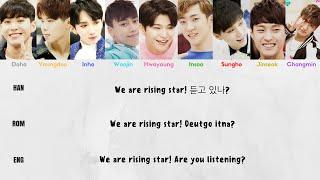 BOYS24 - Rising Star [Color Coded Lyrics - Han/Rom/Eng]