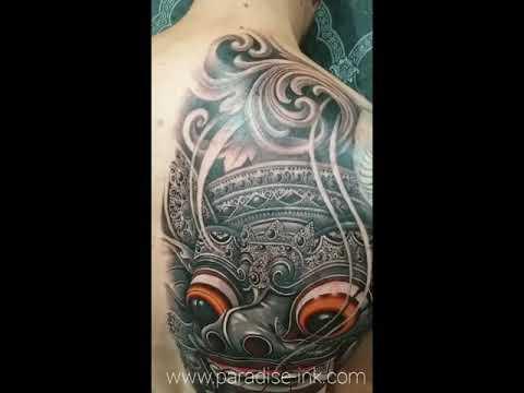 PARADISE INK TATTOO BALI - Barong mask