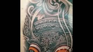 PARADISE INK TATTOO BALI - Barong mask