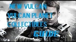 Star Trek - New Vulcan - Vulcan Planet - All Collectibles Locations Guide