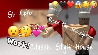 S1: Epi6: Classic Style House🤤❤️❣️ •~Bloxburg~•