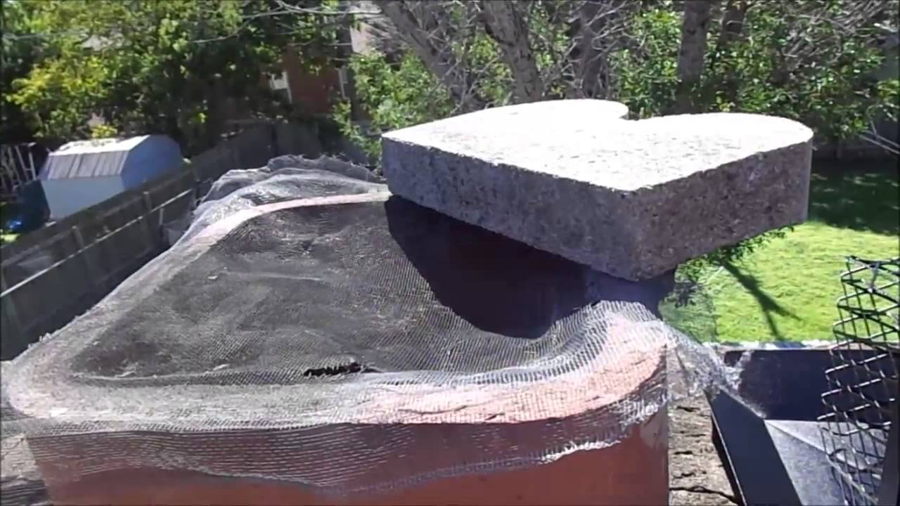 Chimney Cap Installation Youtube