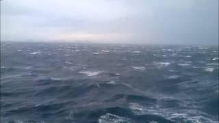 tempête entre Patras et Ancône