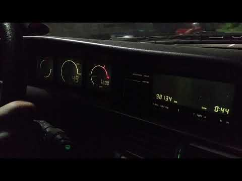 Lancia Dedra Optoelectronic Test Drive