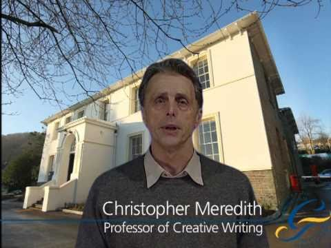 Creative Writing degree: Professor Chris Meredith explores poetry and inspiration