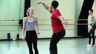 Alice and the Cheshire Cat with choreographer Septime Webre