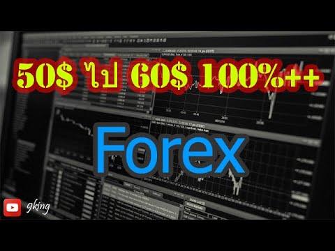 [Forex] ทุน 50$ กำไร 60$ ใน 10 วัน 100%++ ด้วยระบบเทรดสั่นๆ