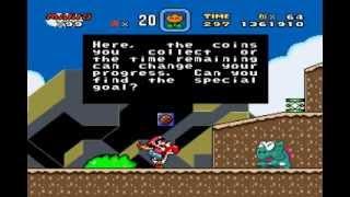 Super Mario World: Chocolate Island 2 (Secret Exit)