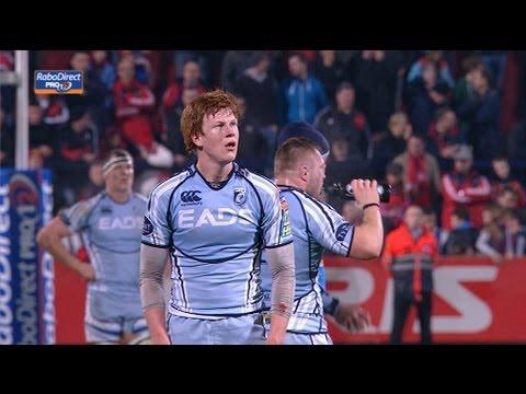 Full Match Highlights Munster V Cardiff Blues 05 Jan 2013