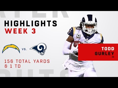 Todd Gurley Breaks Off 156 Total Yards on 28 Touches!