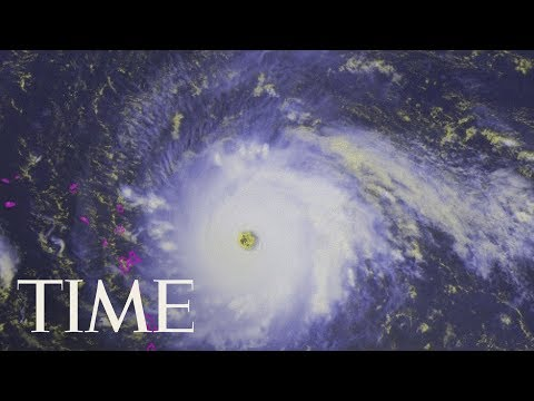 Live Satellite Images Of Hurricane Irma: Evacuation Orders In Place In Florida | LIVE | TIME