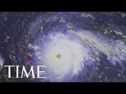 Watch Live Satellite Images Of Hurricane Irma: Evacuation
