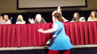 Power Morphicon 2016 Power Rangers Zeo to Turbo panel part 1